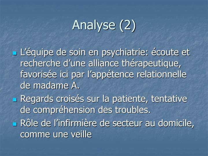 Analyse (2)