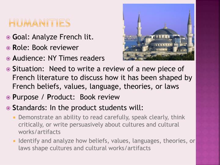 Humanities