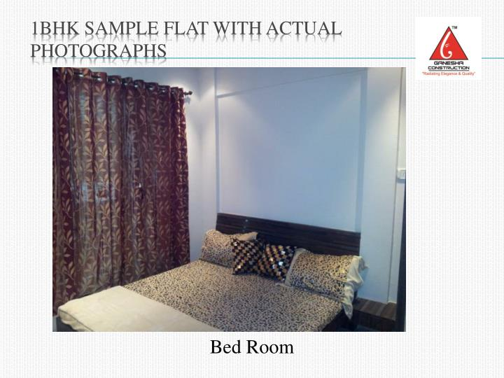 1BHK Sample Flat with Actual Photographs