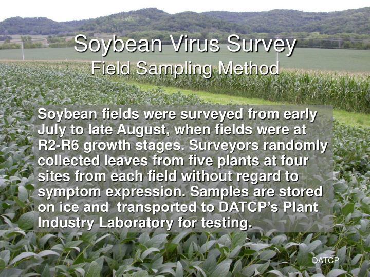 Soybean Virus Survey
