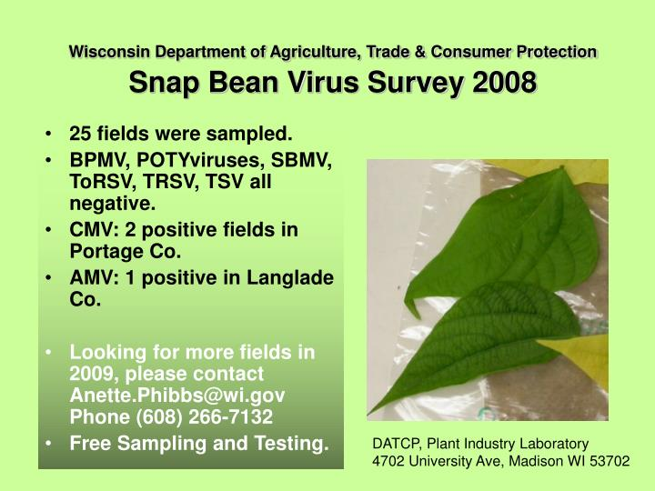 Wisconsin Department of Agriculture, Trade & Consumer Protection