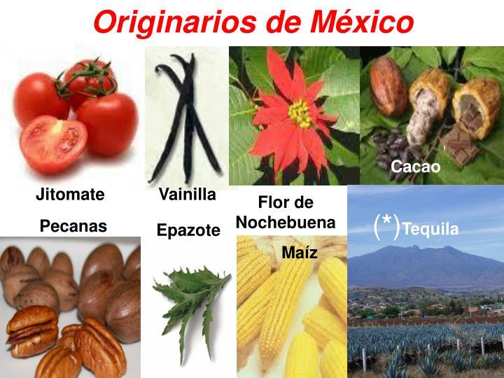 Originarios de México