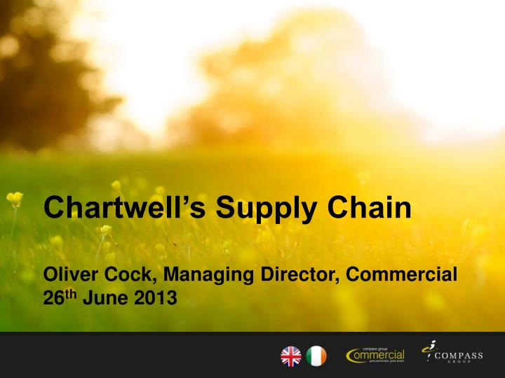 Chartwell's Supply Chain