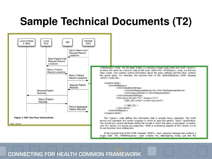 Sample Technical Documents (T2)