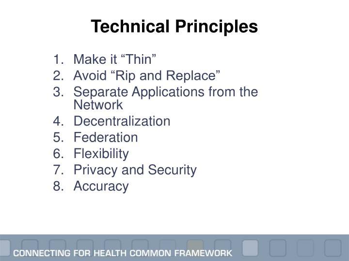 Technical Principles