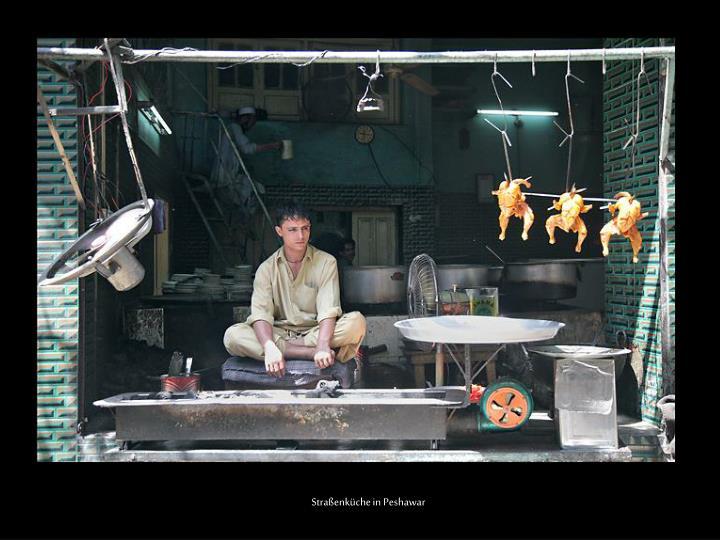 Straßenküche in Peshawar