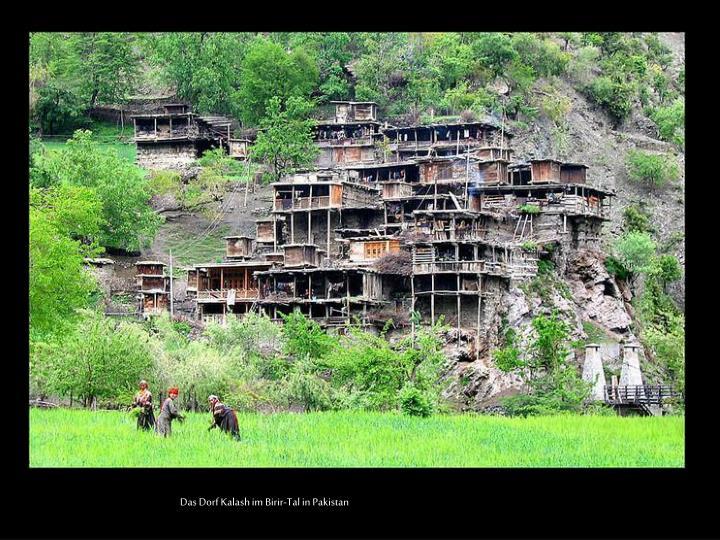 Das Dorf Kalash im