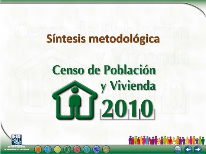 Síntesis metodológica