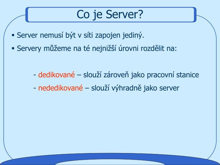 Co je Server?