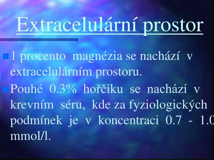 Extracelulární prostor