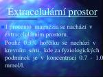 extracelul rn prostor
