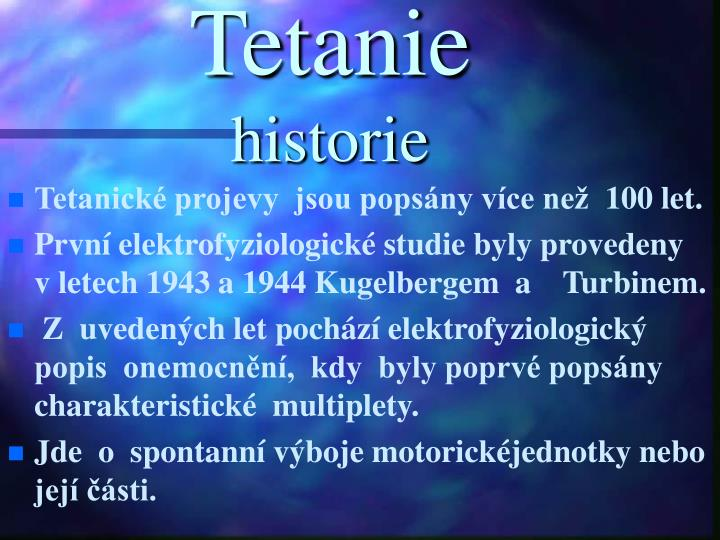 Tetanie