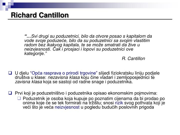 Richard Cantillon