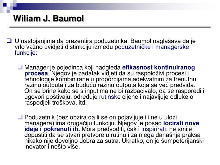 Wiliam J. Baumol
