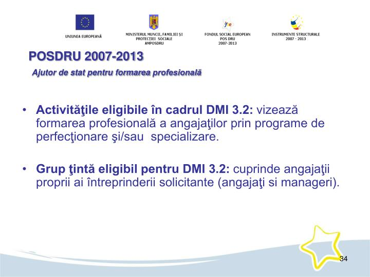 POSDRU 2007-2013