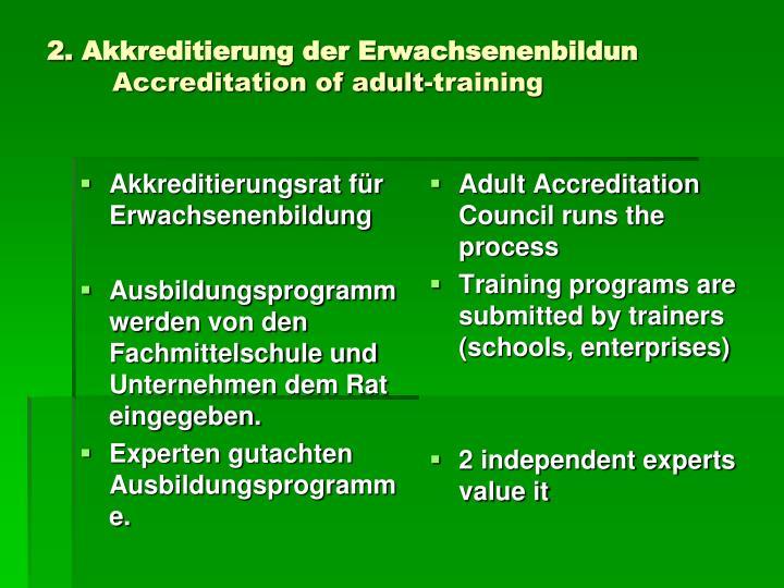 Akkreditierungsrat für Erwachsenenbildung