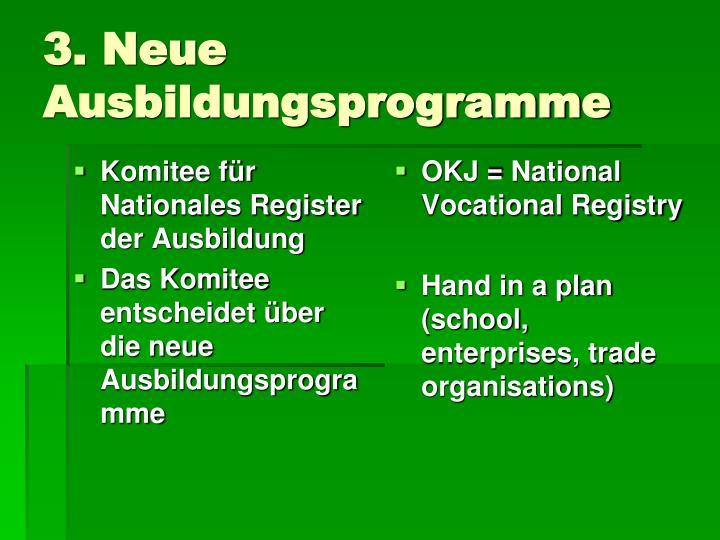 Komitee für Nationales Register der Ausbildung
