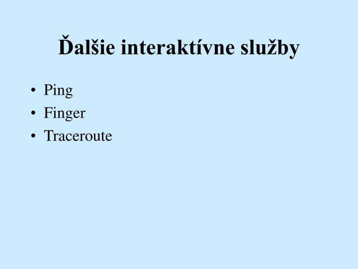 Al ie interakt vne slu by