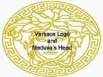 versace logo and medusa s head