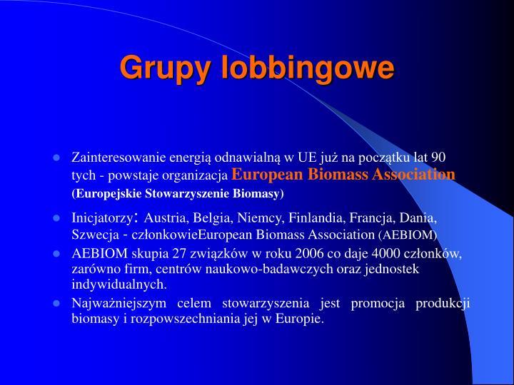 Grupy lobbingowe