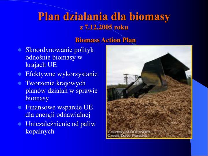 Skoordynowanie polityk odnośnie biomasy w krajach UE