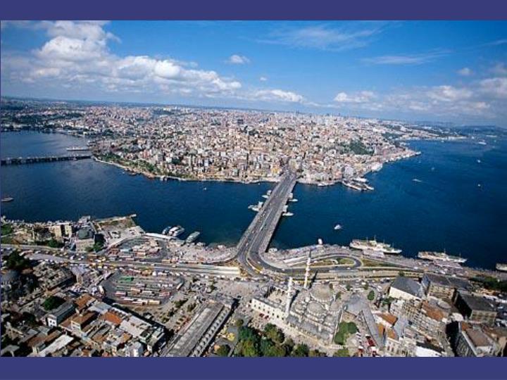 Tarihi Yarımada'dan Beyoğlu Yakası / İstanbul