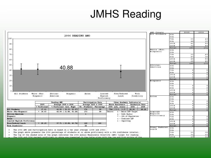 JMHS Reading