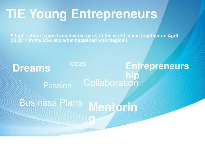 TiE Young Entrepreneurs