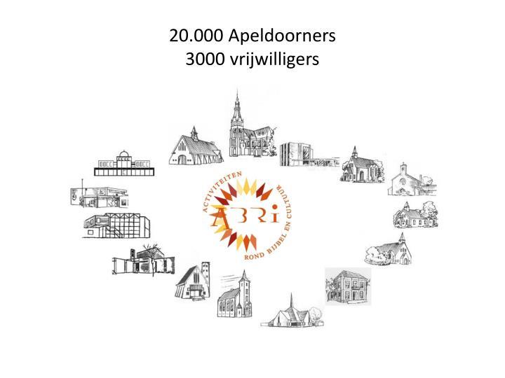 20.000 Apeldoorners