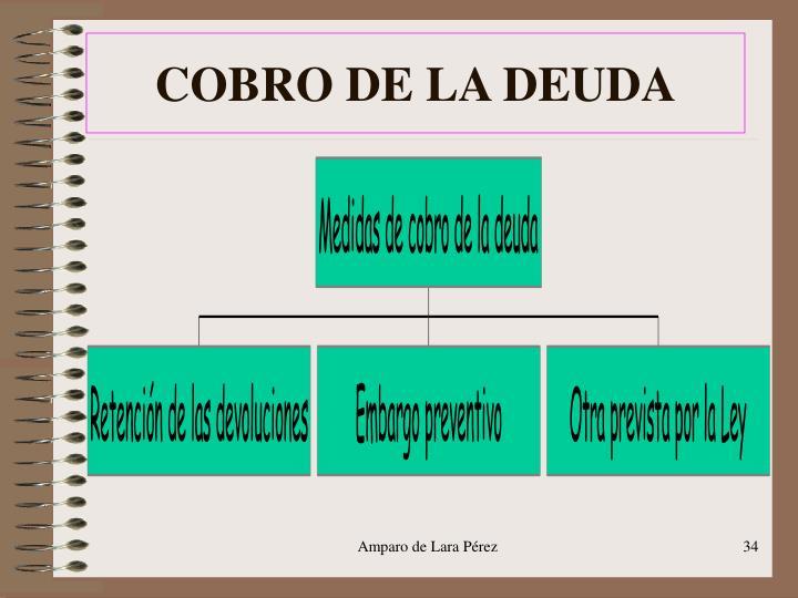 COBRO DE LA DEUDA