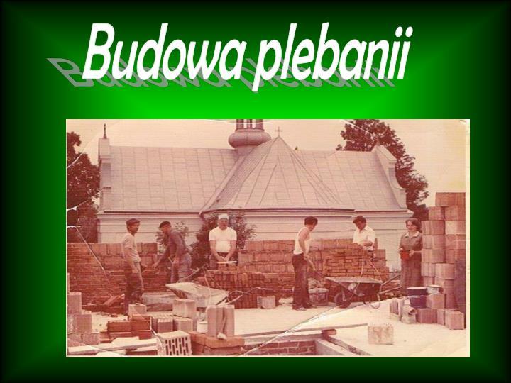 Budowa plebanii
