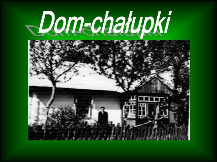 Dom-chałupki