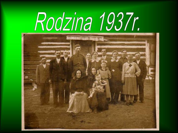 Rodzina 1937r.