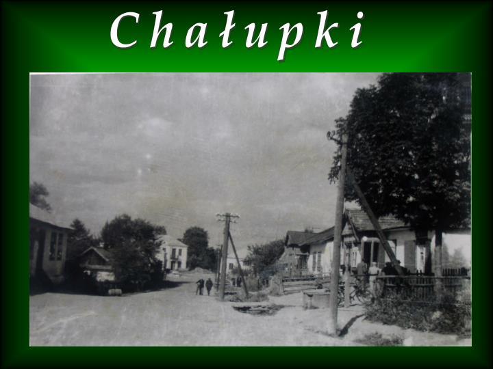 Chałupki