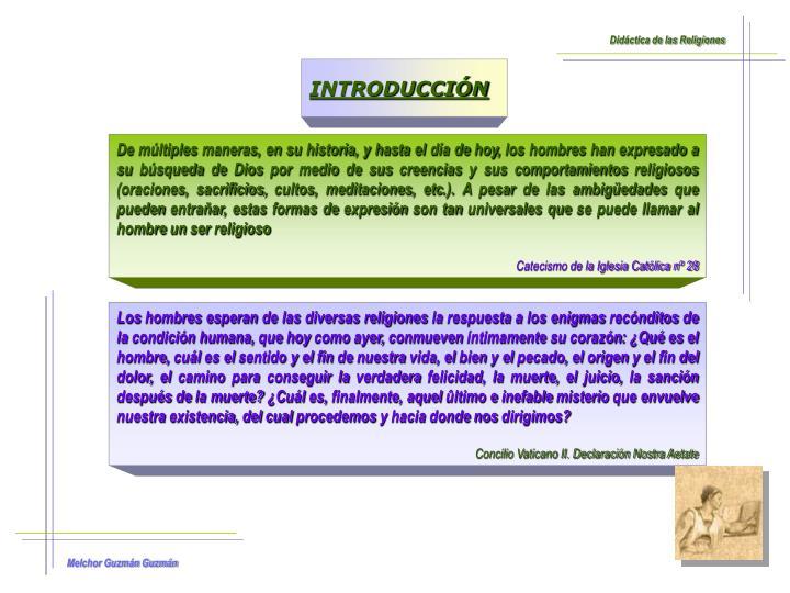 Didáctica de las Religiones
