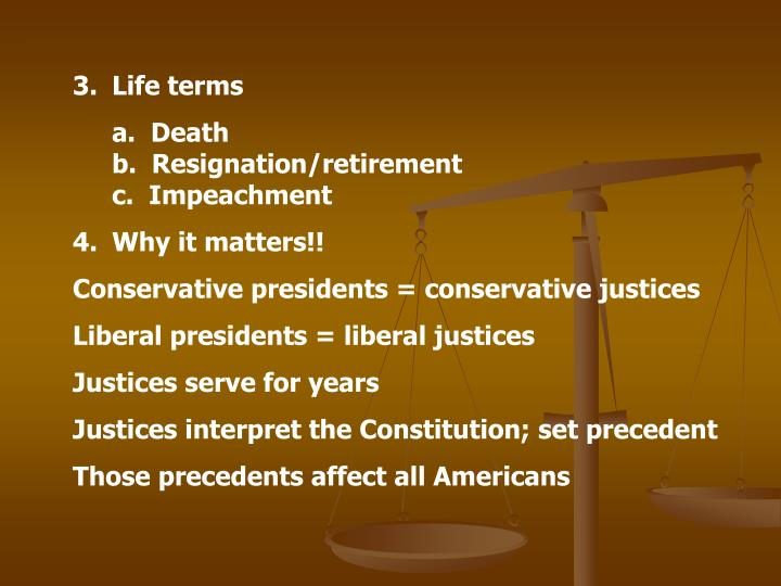 Life terms