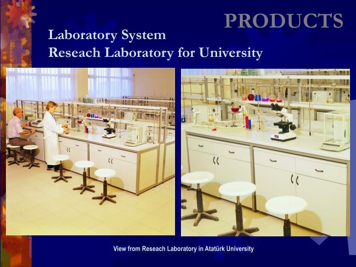 View from Reseach Laboratory in Atatürk University