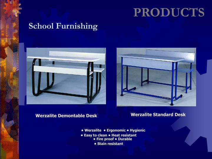Werzalite Demontable Desk