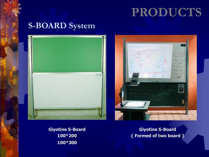 Giyotine S-Board