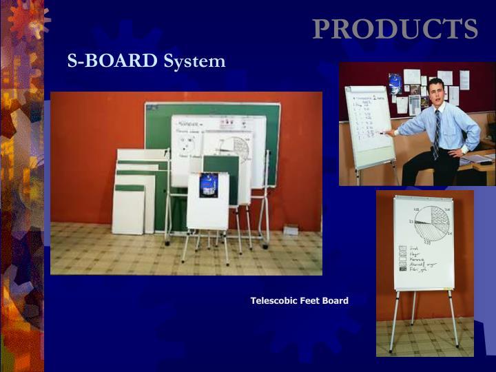 Telescobic Feet Board