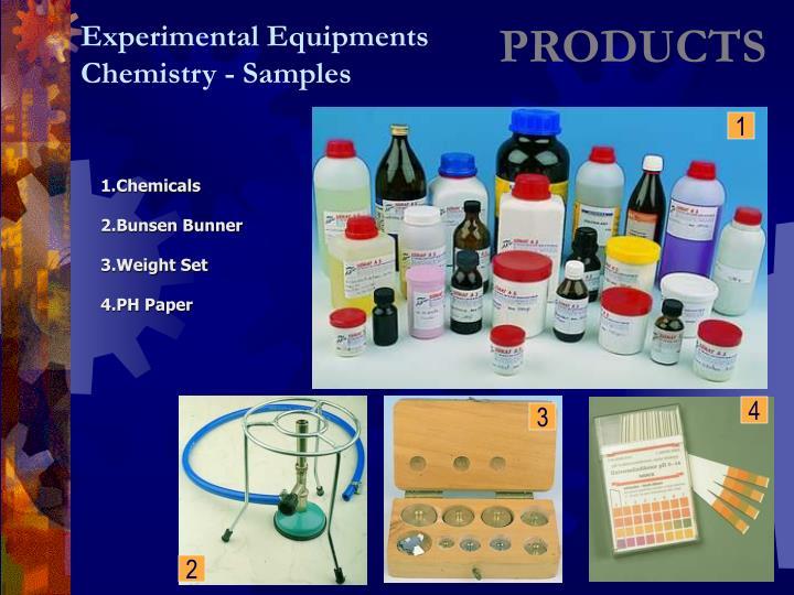 Experimental Equipments