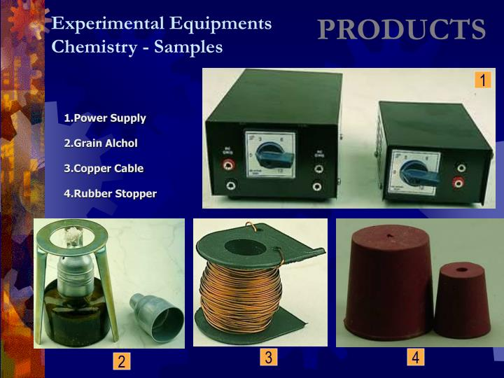 Experimental Equipments