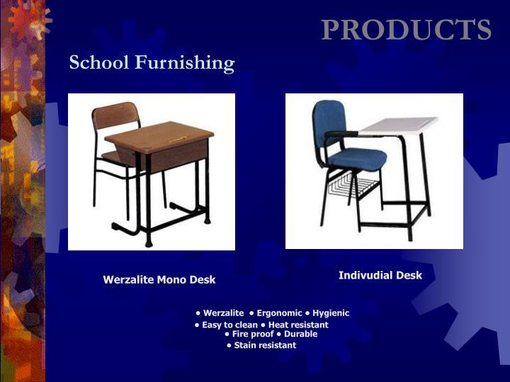 Werzalite Mono Desk