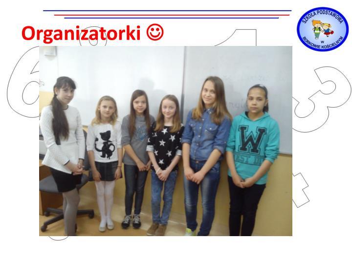 Organizatorki