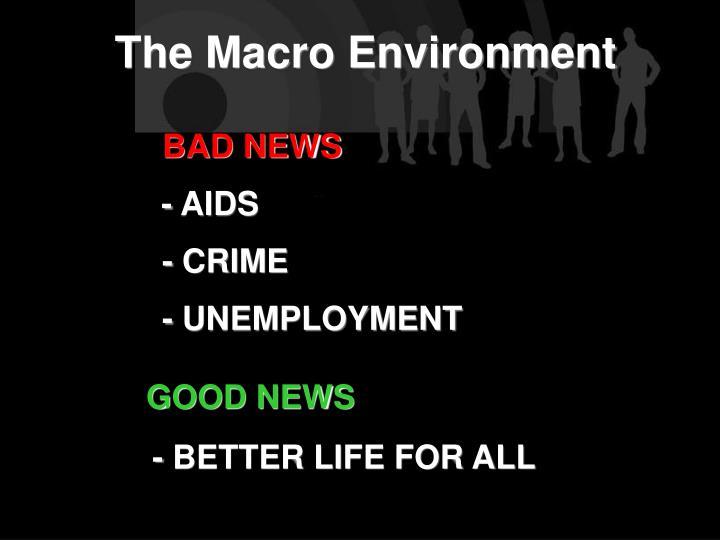 The Macro Environment