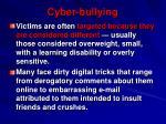 cyber bullying1