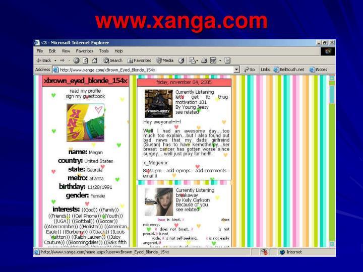 www.xanga.com