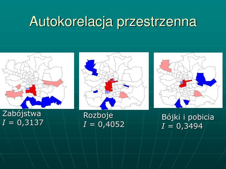 Autokorelacja przestrzenna