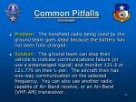 common pitfalls continued3