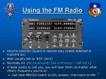 using the fm radio1